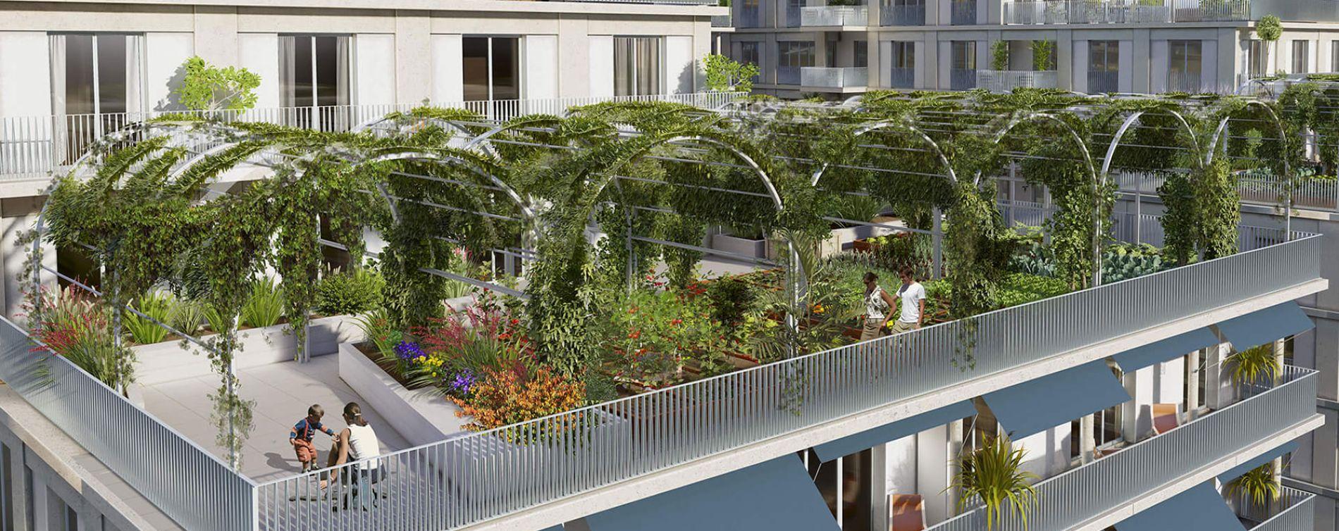 Bordeaux : programme immobilier neuve « L'Althéa » en Loi Pinel (4)