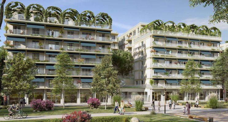 Bordeaux : programme immobilier neuf « L'Althéa » en Loi Pinel