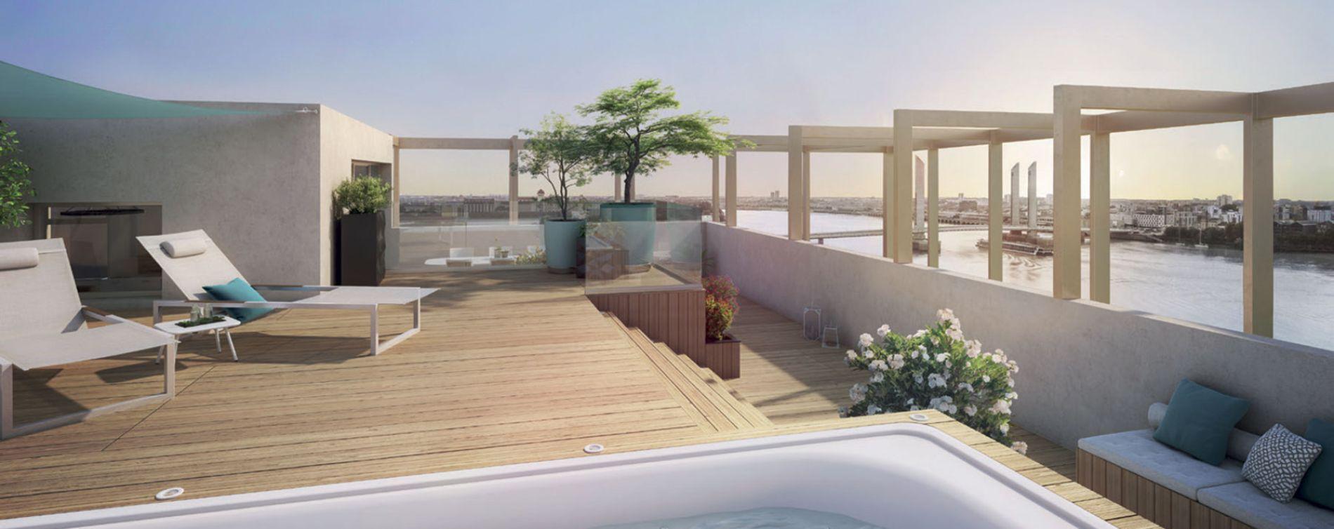 Bordeaux : programme immobilier neuve « Programme immobilier n°216466 » en Loi Pinel