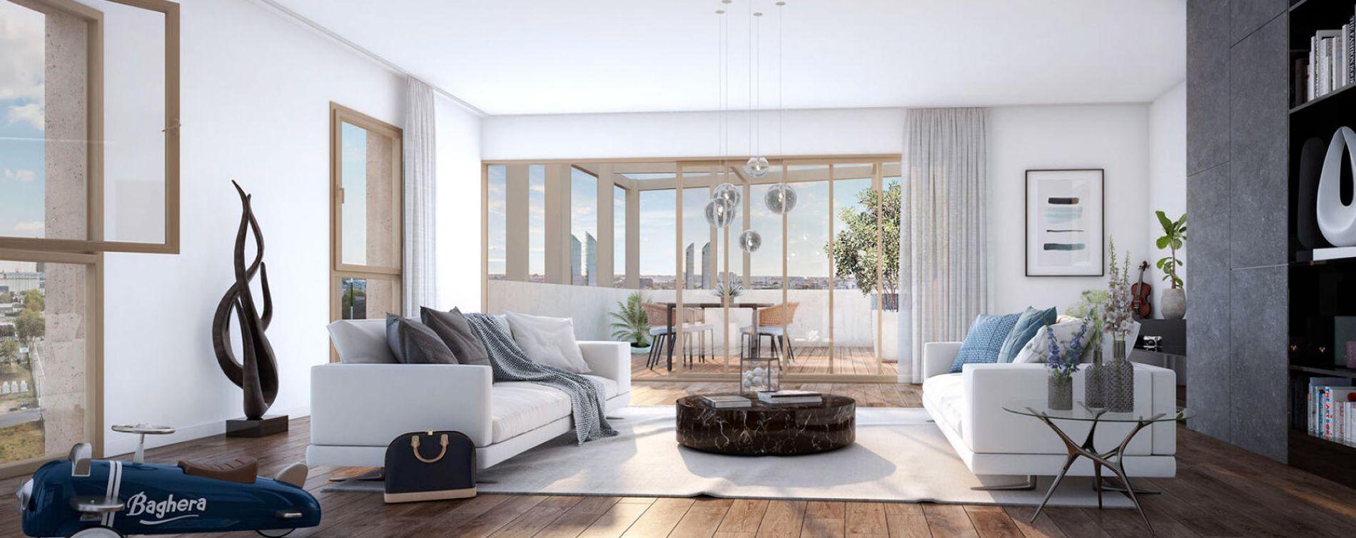 Bordeaux : programme immobilier neuve « Programme immobilier n°216466 » en Loi Pinel (2)