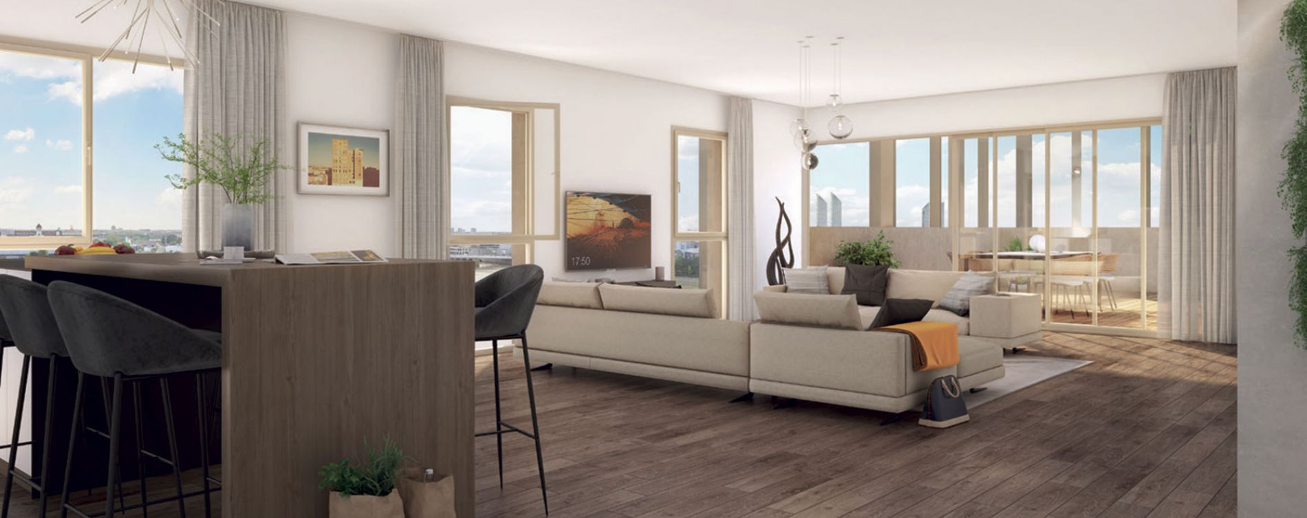 Bordeaux : programme immobilier neuve « Programme immobilier n°216466 » en Loi Pinel (3)