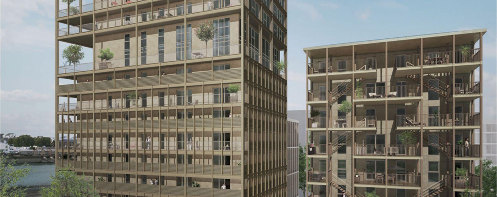 Bordeaux : programme immobilier neuve « Programme immobilier n°216466 » en Loi Pinel (4)