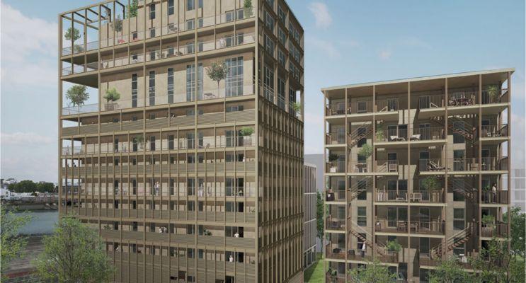Bordeaux : programme immobilier neuf «  n°216465 » en Loi Pinel
