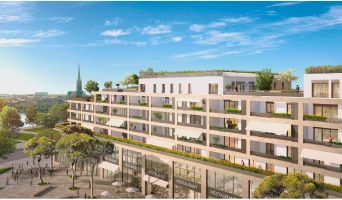 Bordeaux programme immobilier neuve « Le Belvédère - BordoRiva » en Loi Pinel  (2)