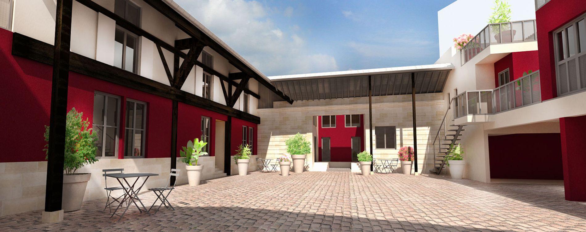 Le clos de la bastide bordeaux programme immobilier neuf for Immobilier sur bordeaux