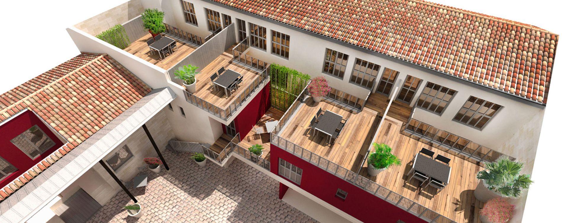 Le clos de la bastide bordeaux programme immobilier neuf for Achat appartement bordeaux bastide