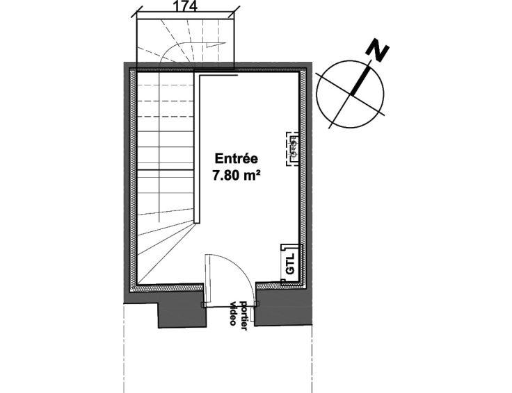 Maison t4 le clos de la bastide bordeaux n032 - Residence les jardins de bordeaux bastide ...