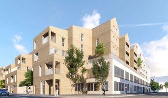 Bordeaux : programme immobilier neuf « Les Allées Amplitude » en Loi Pinel
