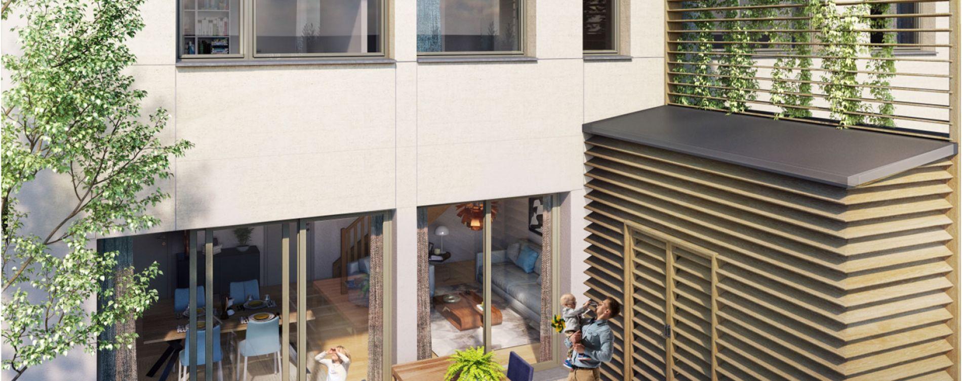 Bordeaux : programme immobilier neuve « Les Échoppes Palais Gallien Fondaudège » (2)