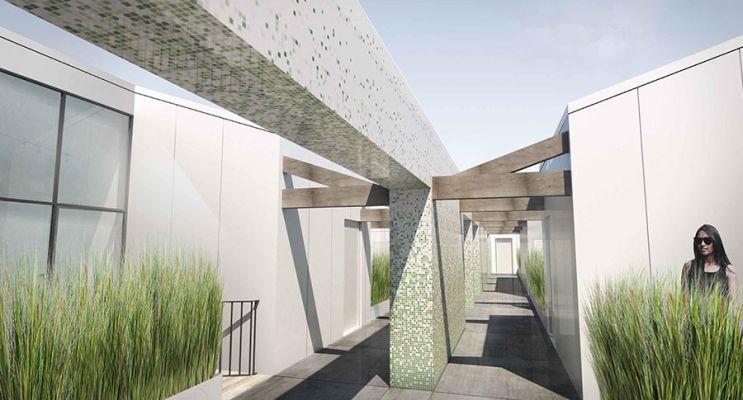 Résidence « Les Patios D'Emile » programme immobilier à rénover en Loi Pinel ancien à Bordeaux n°2