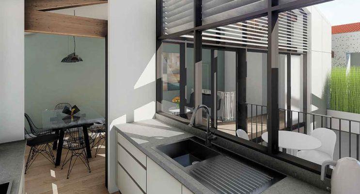 Résidence « Les Patios D'Emile » programme immobilier à rénover en Loi Pinel ancien à Bordeaux n°3
