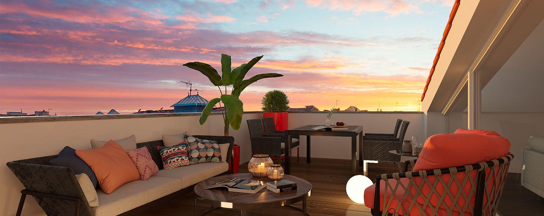 Bordeaux : programme immobilier neuve « L'Intemporel » en Loi Pinel