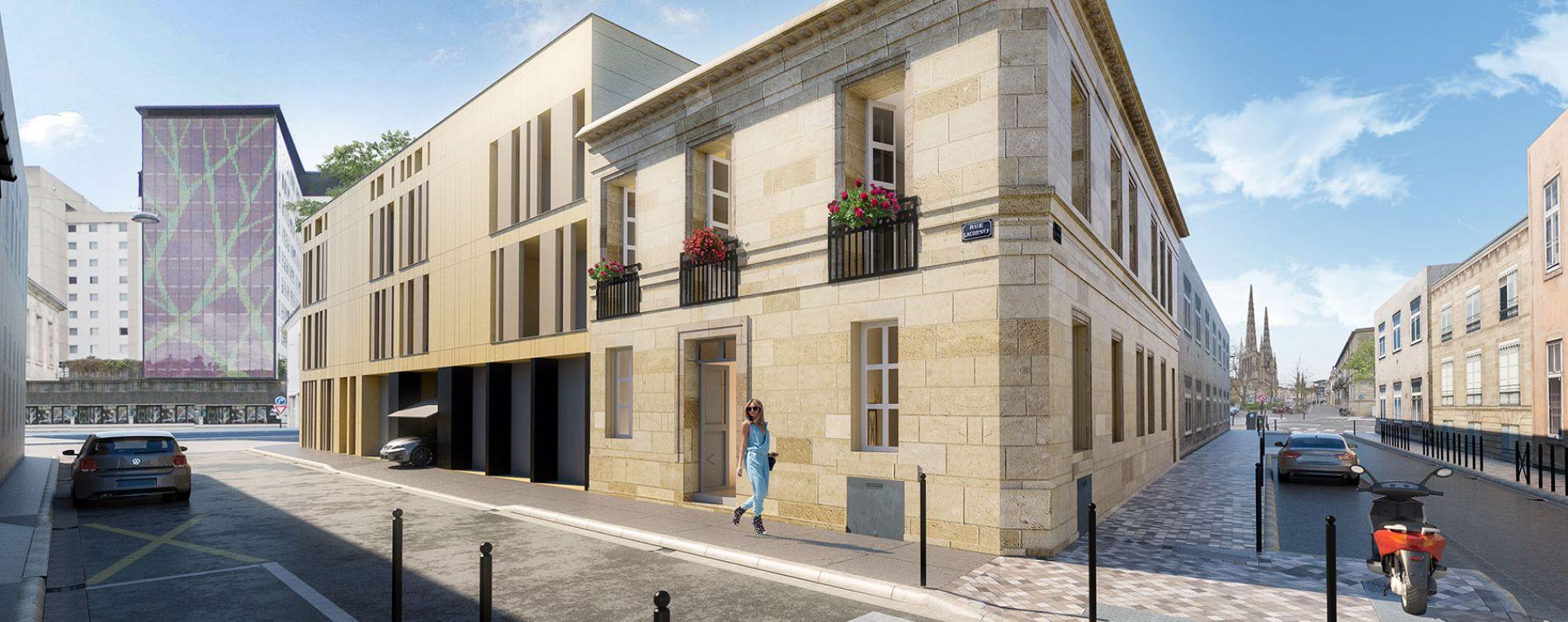 Bordeaux : programme immobilier neuve « L'Intemporel » en Loi Pinel (2)