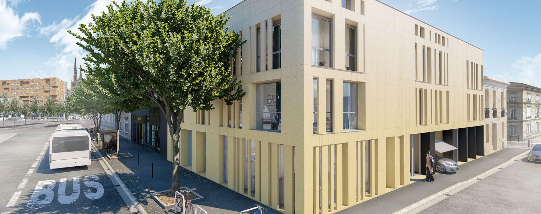 Bordeaux : programme immobilier neuve « L'Intemporel » en Loi Pinel (3)