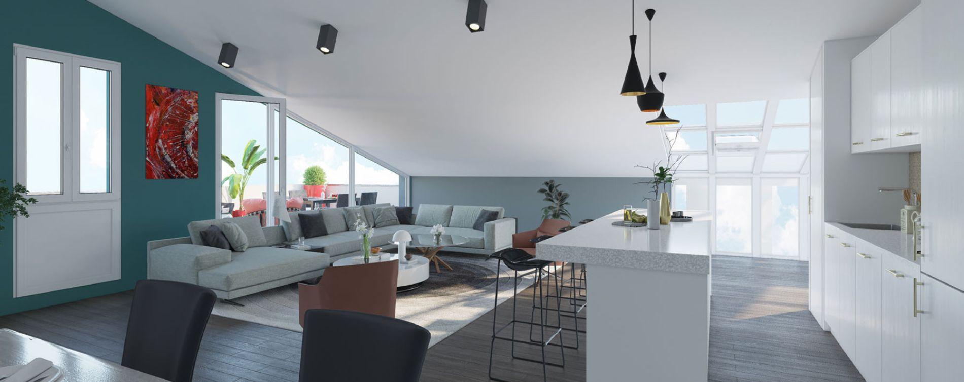 Bordeaux : programme immobilier neuve « L'Intemporel » en Loi Pinel (5)