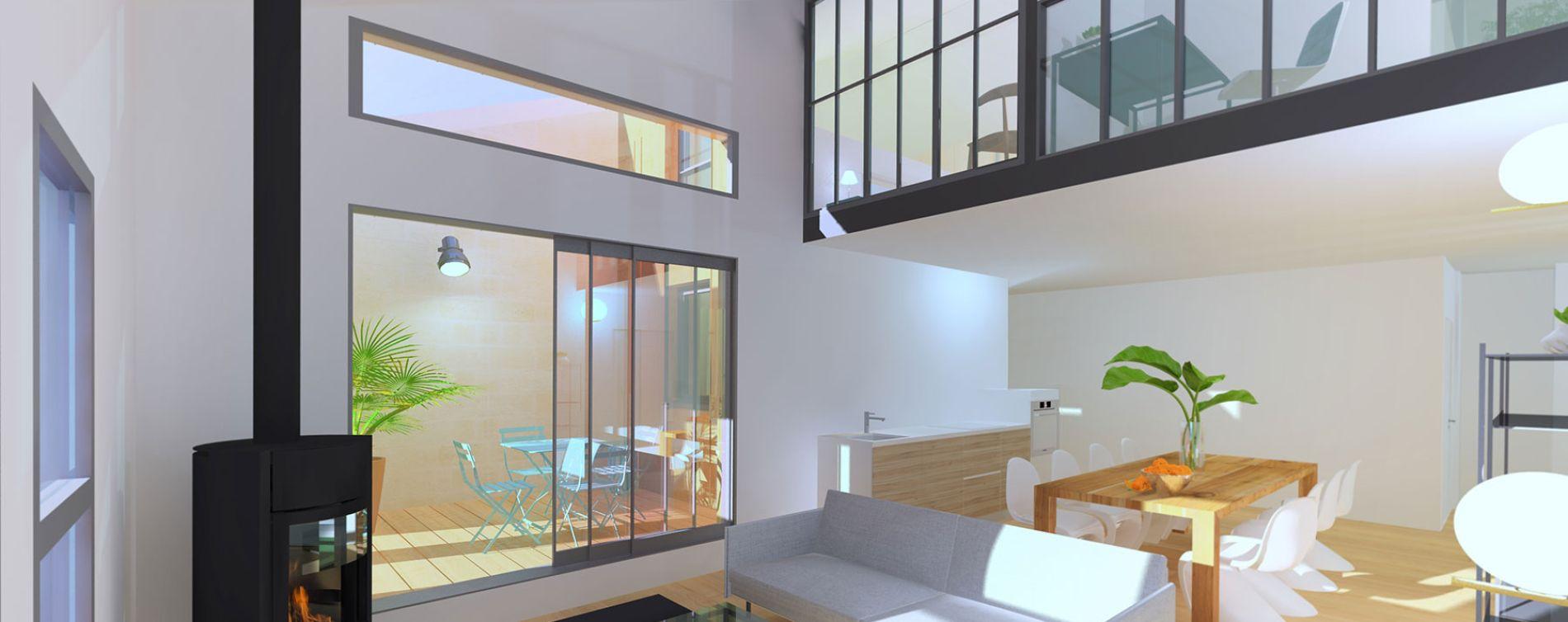 Bordeaux : programme immobilier neuve « Mitsuko » en Loi Pinel (3)