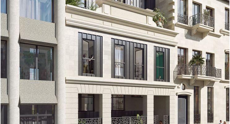 Bordeaux : programme immobilier neuf « Mitsuko » en Loi Pinel