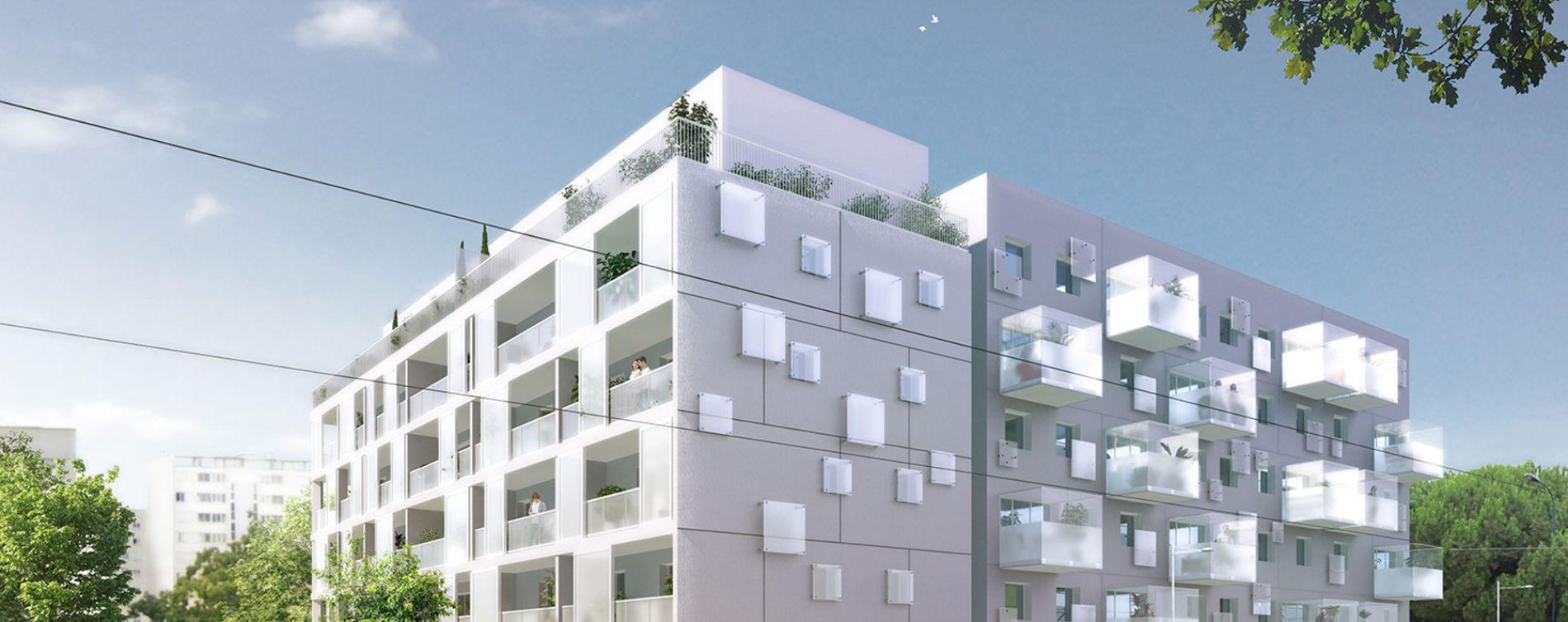 Bordeaux : programme immobilier neuve « Parallèle 33 » en Loi Pinel
