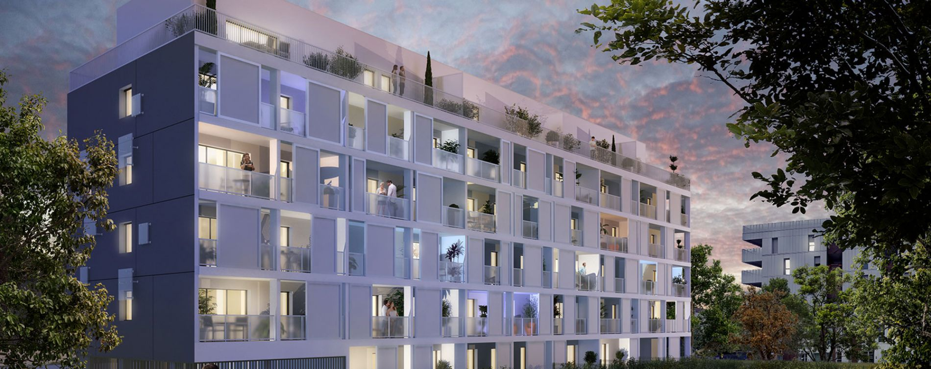 Bordeaux : programme immobilier neuve « Parallèle 33 » en Loi Pinel (2)