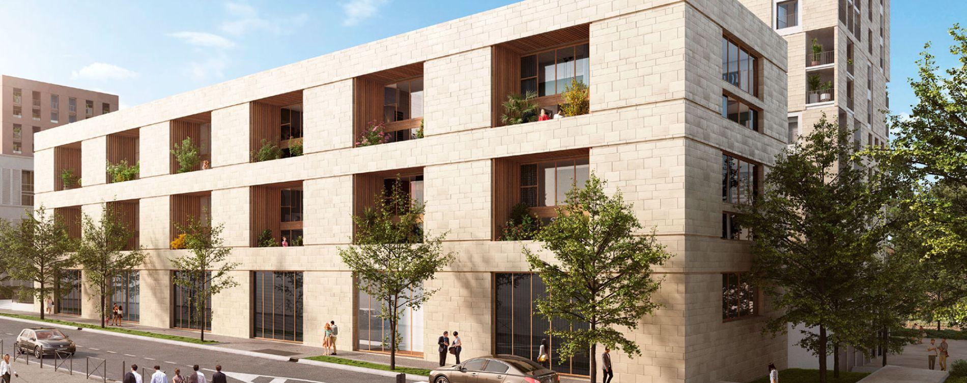 Bordeaux : programme immobilier neuve « Passages Saint Germain » en Loi Pinel
