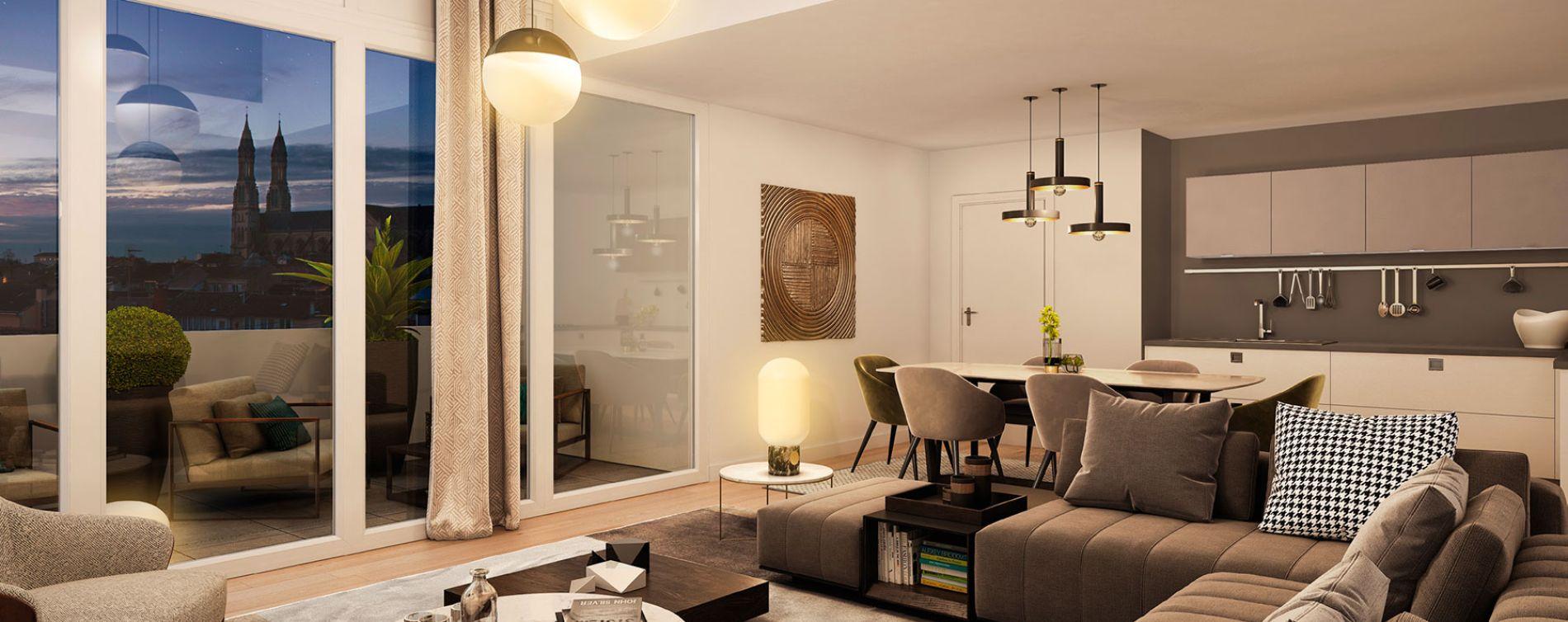 Bordeaux : programme immobilier neuve « Passages Saint Germain » en Loi Pinel (3)