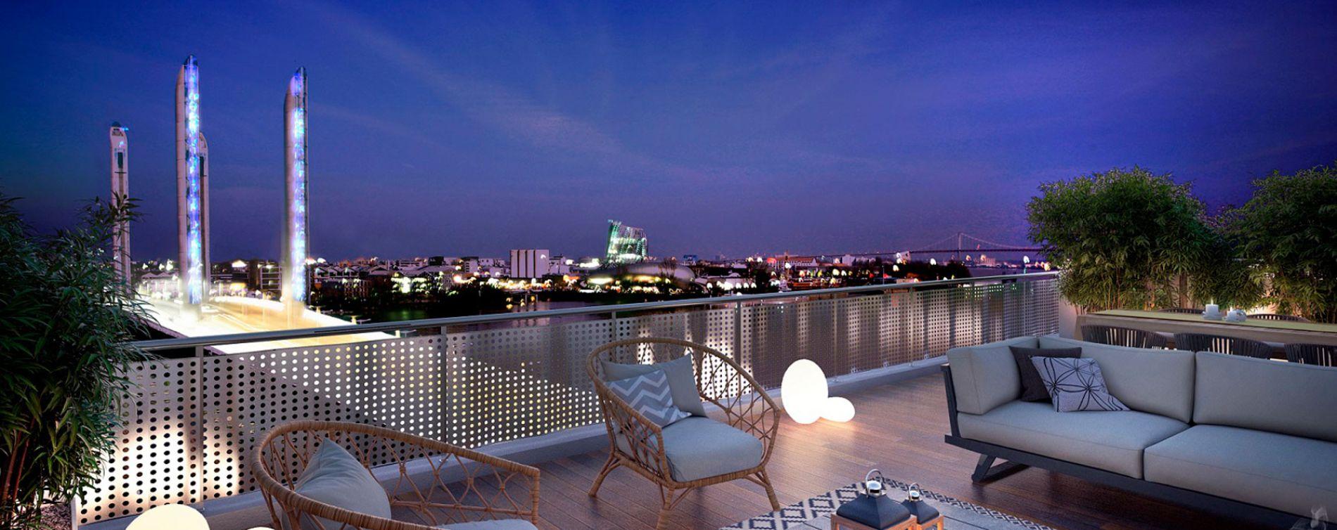 Bordeaux : programme immobilier neuve « Quai 56 »