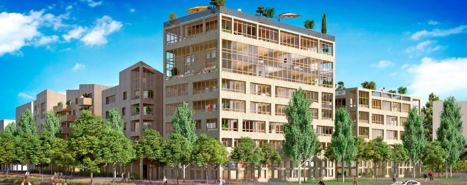 Bordeaux : programme immobilier neuve « Quai 56 » (2)