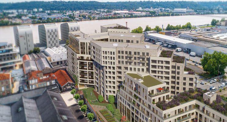 Photo du Résidence « Résidence des Ducs d'Aquitaine » programme immobilier neuf à Bordeaux