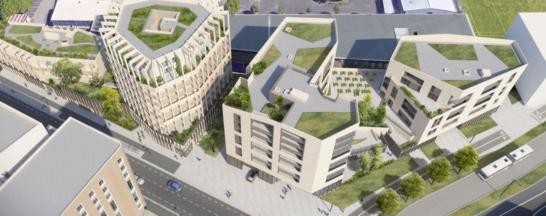 Bordeaux : programme immobilier neuve « Résidence Vizion » en Loi Pinel (3)