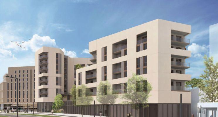 Bordeaux : programme immobilier neuf « Résidence Vizion » en Loi Pinel