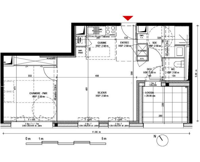 Appartement t2 bordeaux n 283 sud ouest for Defiscalisation logement neuf