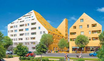 Photo n°1 du Résidence « Rivéo - Contemporain » programme immobilier neuf en Loi Pinel à Bordeaux