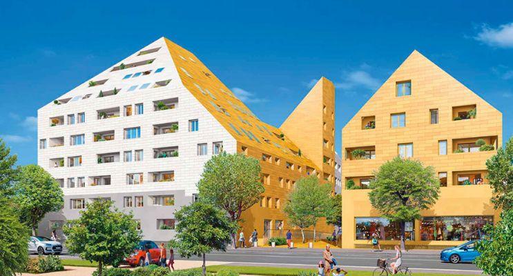 Photo du Résidence « Rivéo - Contemporain » programme immobilier neuf en Loi Pinel à Bordeaux