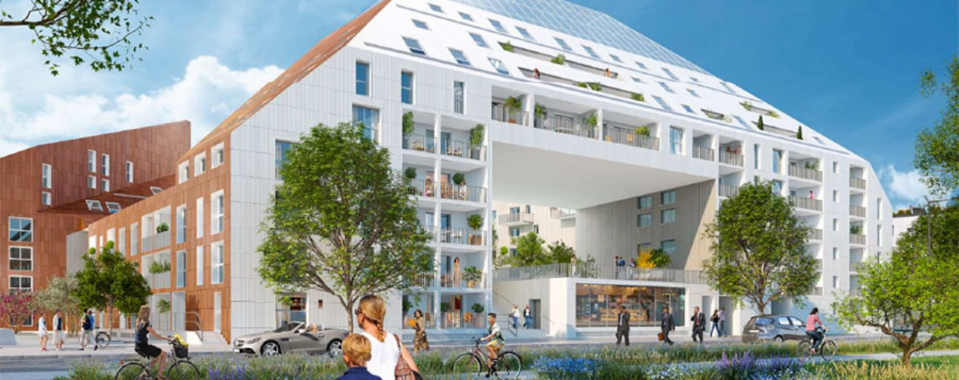 Riv o cosmopolitain bordeaux programme immobilier neuf for Vente appartement bordeaux bastide