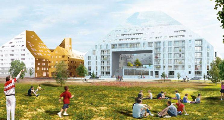 Photo n°2 du Résidence « Rivéo - Cosmopolitain » programme immobilier neuf en Loi Pinel à Bordeaux