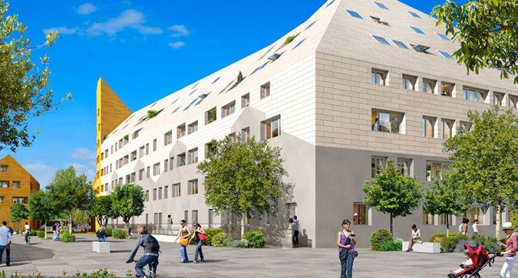 Photo n°3 du Résidence « Rivéo - Cosmopolitain » programme immobilier neuf en Loi Pinel à Bordeaux