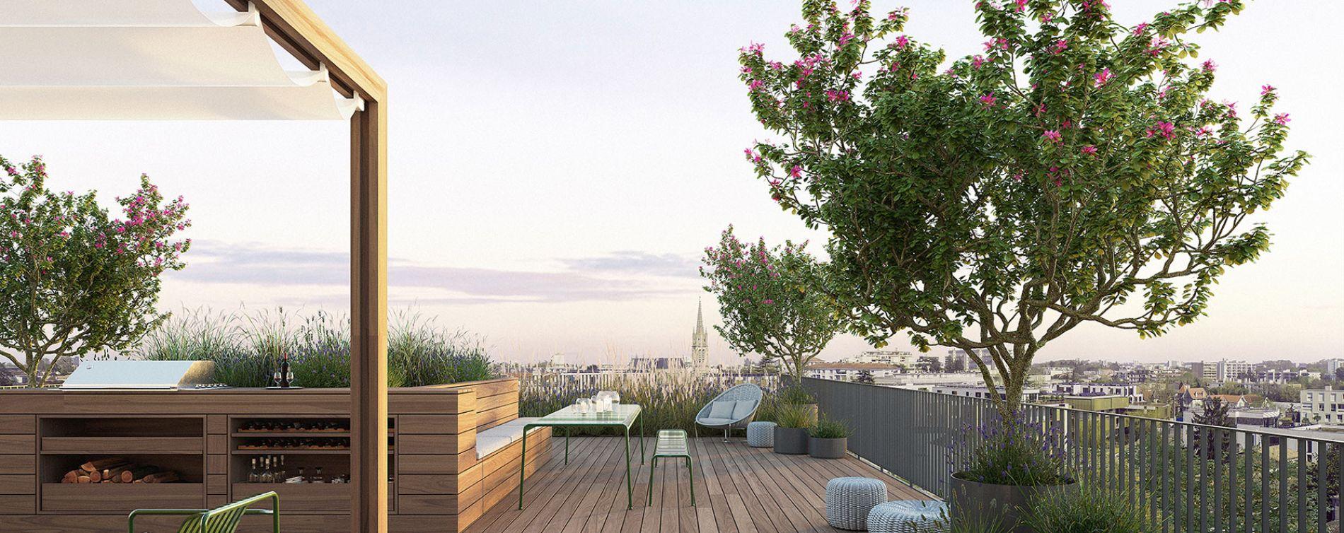 Résidence Skyline à Bordeaux