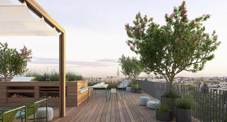 Bordeaux : programme immobilier neuf « Skyline » en Loi Pinel