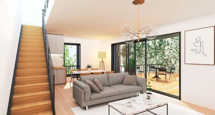 Photo du Résidence « Terrasses Sainte Catherine » programme immobilier à rénover en Loi Pinel ancien à Bordeaux