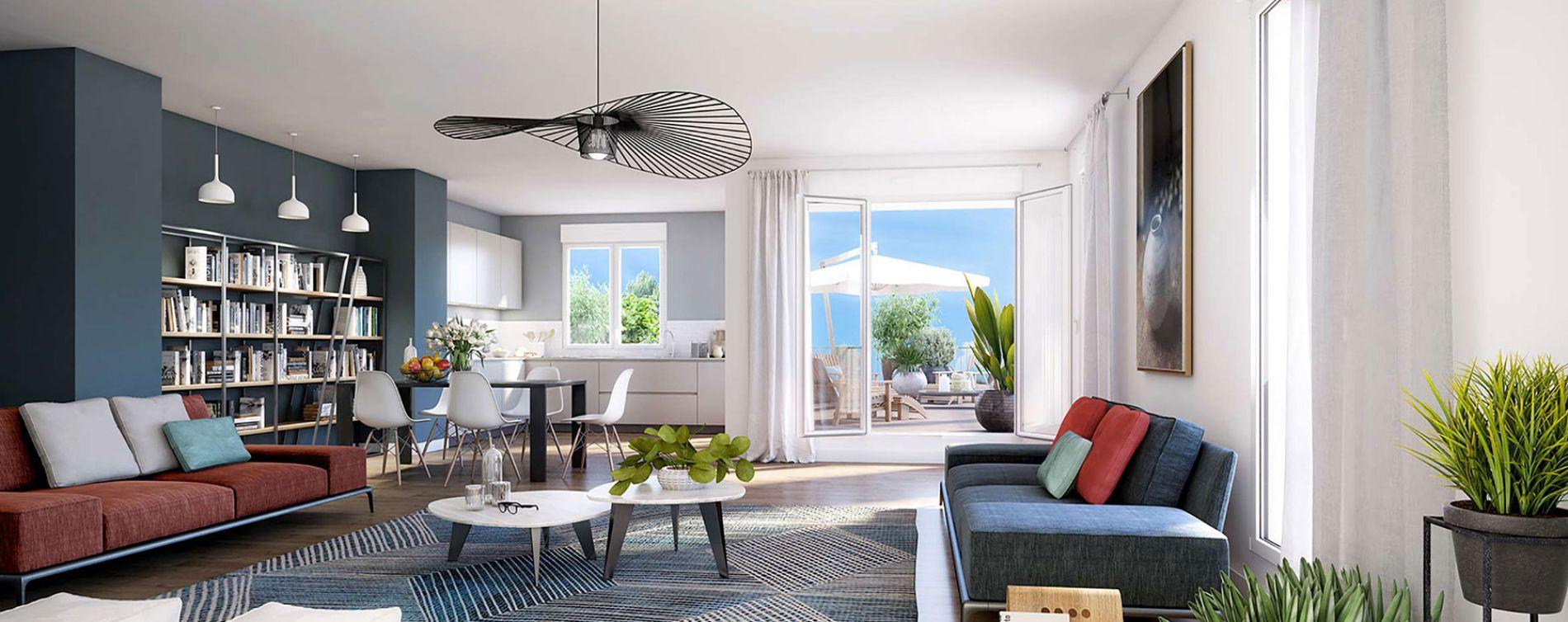 Bordeaux : programme immobilier neuve « Urb'In » en Loi Pinel (2)