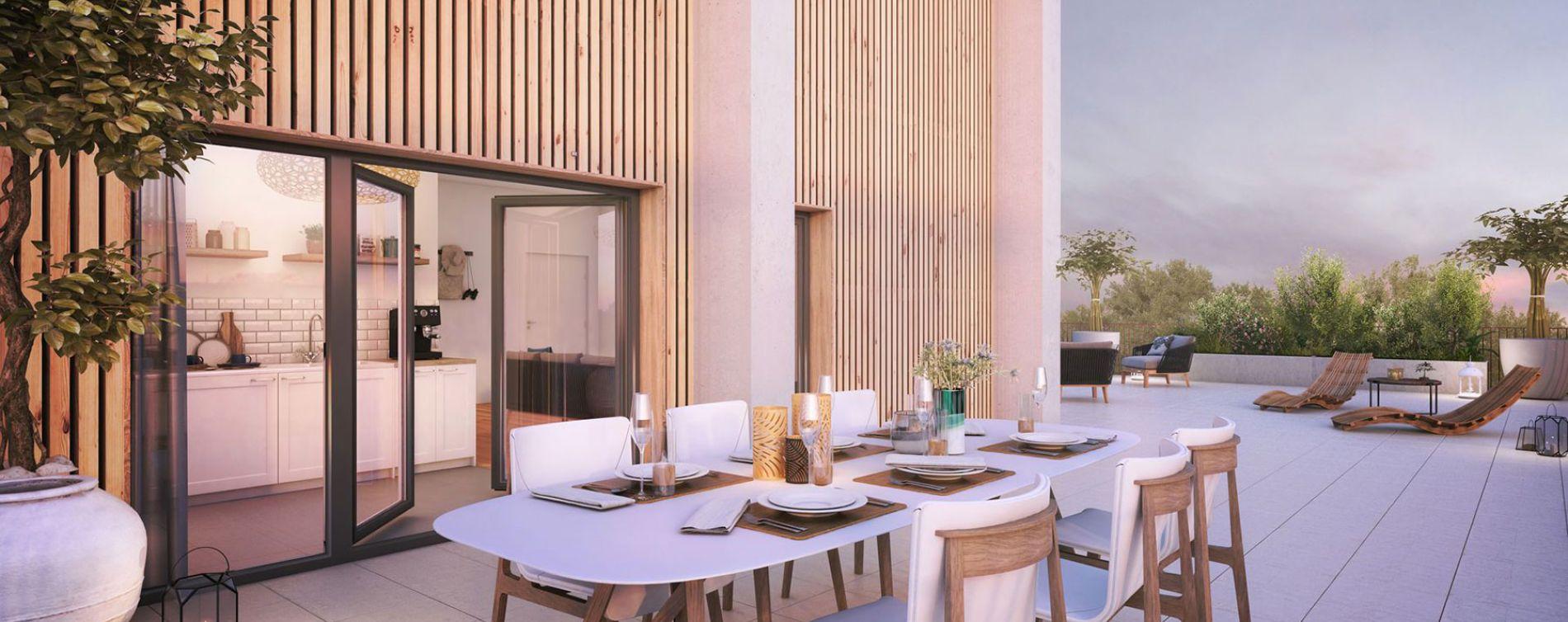 Bordeaux : programme immobilier neuve « Vert'uose 2 » en Loi Pinel (4)