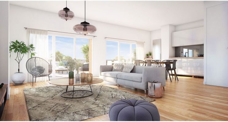 Bordeaux : programme immobilier neuf « Vert'uose 2 » en Loi Pinel