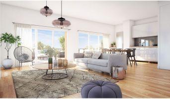 Bordeaux programme immobilier neuve « Vert'uose » en Loi Pinel  (4)