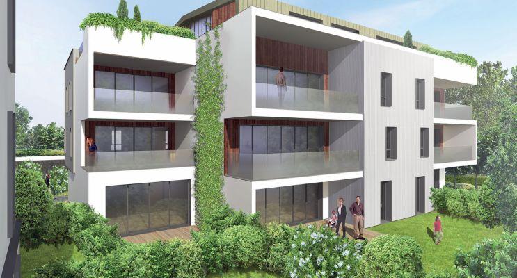 Photo n°1 du Résidence « Villa Etchenique » programme immobilier neuf en Loi Pinel à Bordeaux