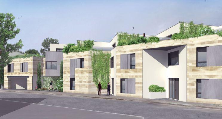 Photo n°2 du Résidence « Villa Etchenique » programme immobilier neuf en Loi Pinel à Bordeaux