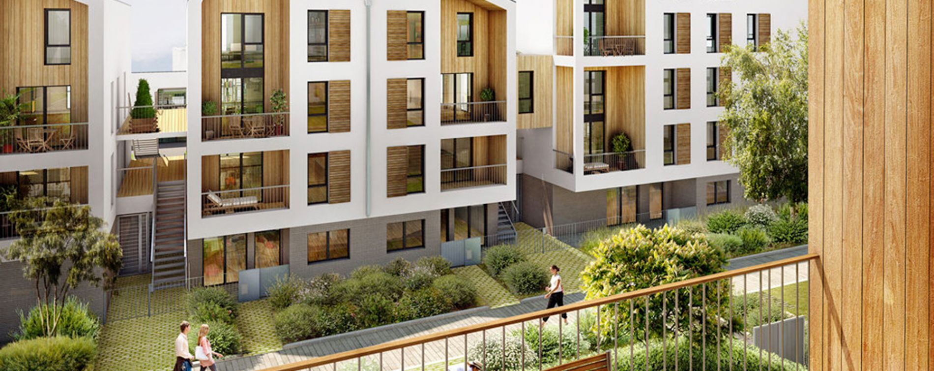 Bordeaux : programme immobilier neuve « Villapollonia Bordeaux »