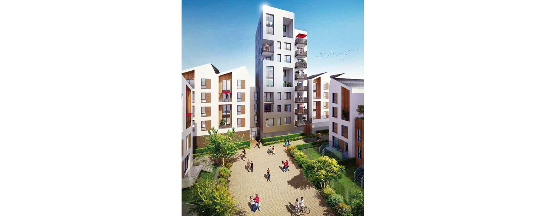 Bordeaux : programme immobilier neuve « Villapollonia Bordeaux » (4)