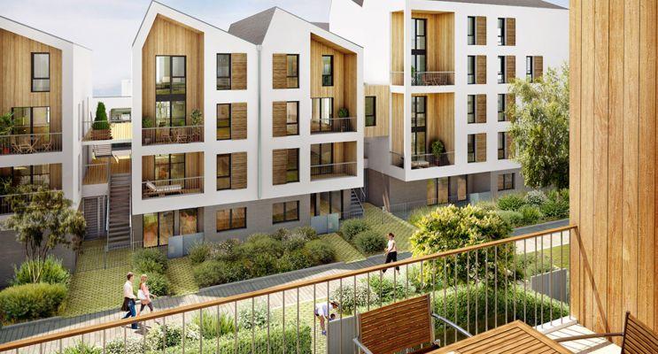 Photo du Résidence « Villapollonia Bordeaux » programme immobilier neuf en Loi Pinel à Bordeaux