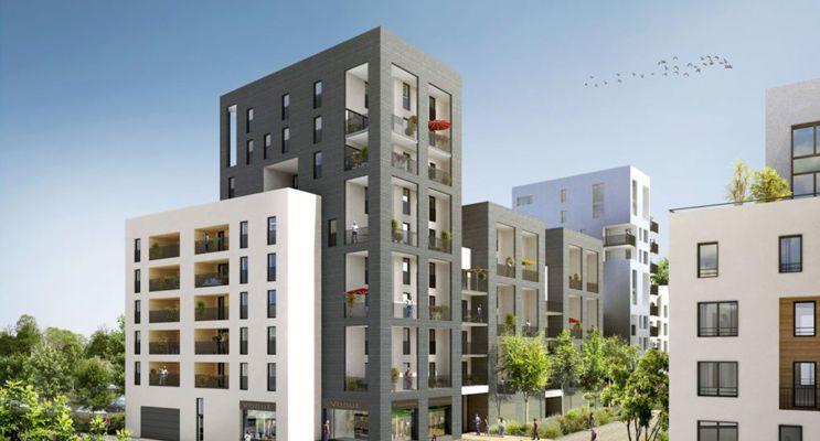 Photo n°3 du Résidence « Villapollonia Bordeaux » programme immobilier neuf en Loi Pinel à Bordeaux