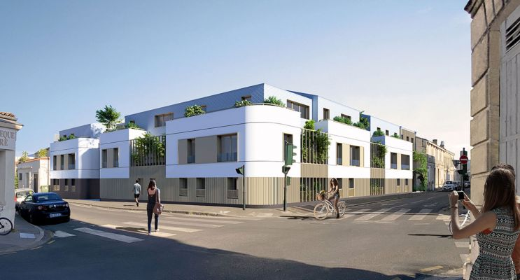 Bordeaux : programme immobilier neuf « Wilson » en Loi Pinel